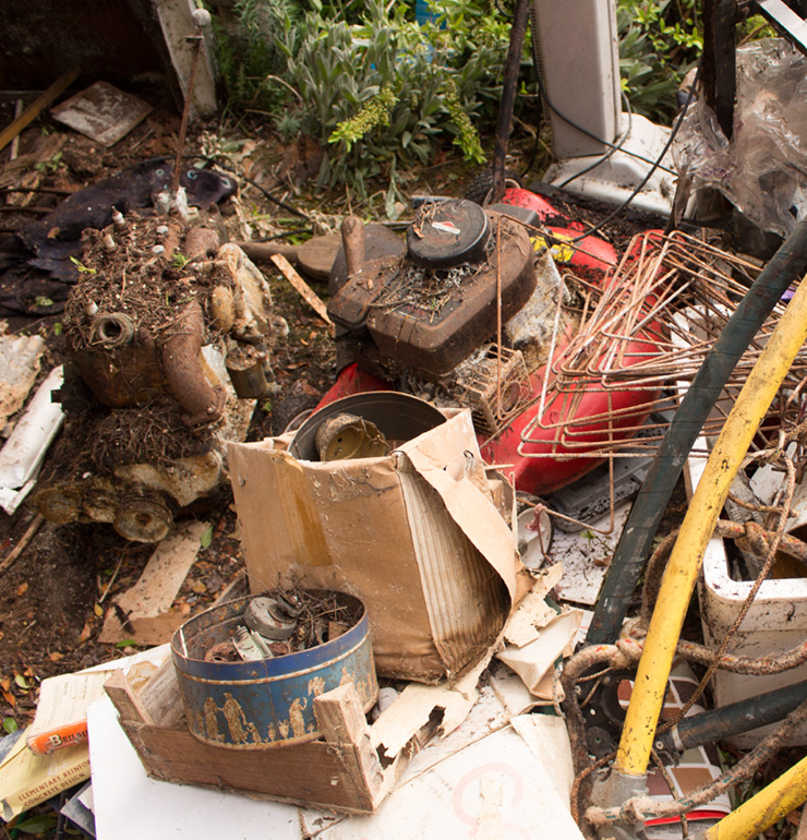 a example of a garden clearance in bournemouth