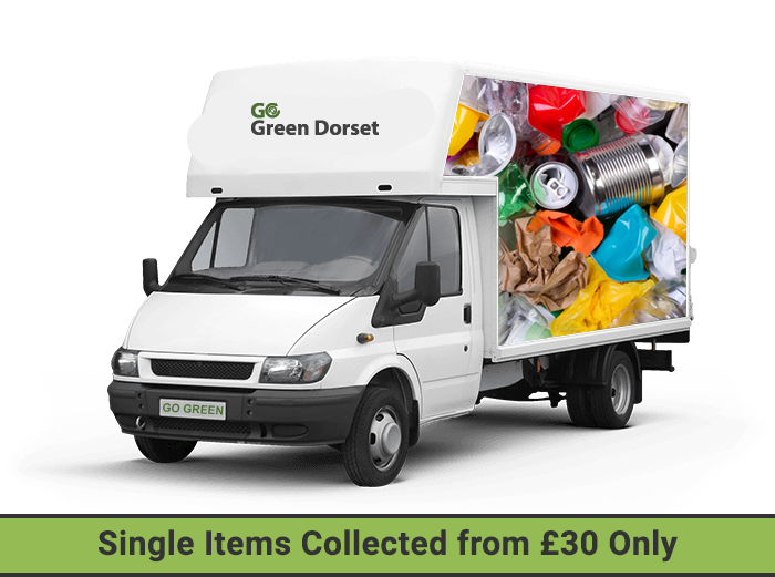 our house clearance van in bournemouth with collection pricing label
